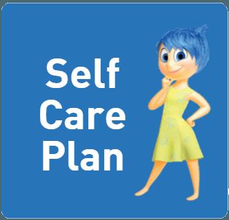 Self Care Plan Button