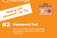 Helping with Homework Tips