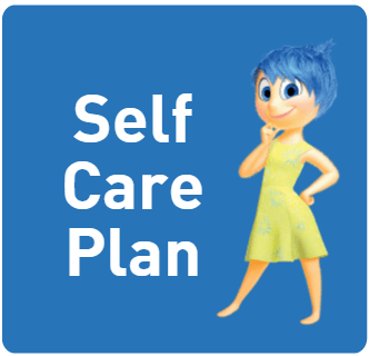 Self Care Plan Button